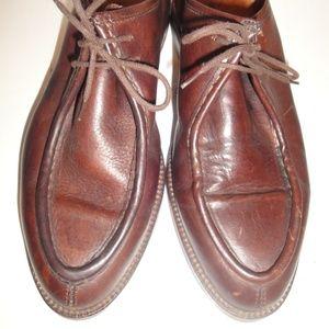 Eddie Bauer Brown Leather Oxford
